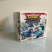 Sonic & All-Stars Racing Transformed -- Bonus Edition (Nintendo 3DS, 2013)