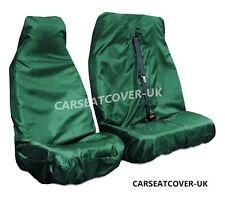 Fiat Ducato (06-13) Green HEAVY DUTY Waterproof VAN Seat COVERS 2+1