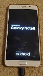 Samsung Galaxy Note5 SM-N920P - 64GB - White Pearl (Sprint) Smartphone