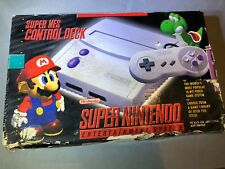 Super Nintendo Entertainment System SNES Mini Gray Console Complete ntsc