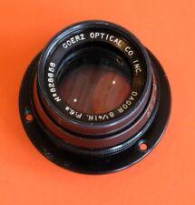 "Georz Dagor 8 1/4 "" f/ 6.8 lens"