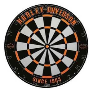 Harley-Davidson Legend Tournament Dartboard - Black & Orange, 18 in. 61985