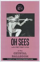 THEE OH SEES 2019 Gig POSTER Portland Oregon Concert
