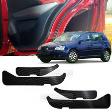 Carbon Door Decal Sticker Cover Kick Protector For VOLKSWAGEN 2006-2009 Golf 5th