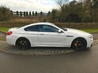 2012/62 WHITE BMW 6 SERIES 640D M SPORT COUPE DIESEL M6 LOOKS *MAY PX OR SWAP*