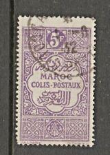 Moroc Colis Postal France Revenue Fiscal stamp- 3-3- few very tiny pinholes