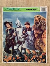 WIZARD OF OZ / FRAME TRAY PUZZLE 1988 GOLDEN / WESTERN PUBLISHING