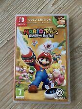 Mario + Rabbids Reino batalla Gold Edition Nintendo Switch (acción/aventura)