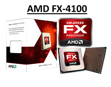 "AMD FX 4100 Black Edition ""Zambezi"" 4 Core, AM3+, Clock 3.6 - 3.8 GHz CPU"