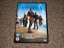 STAR WARS ROGUE ONE - A STAR WARS STORY DVD - IN VGC (FREE UK P&P)