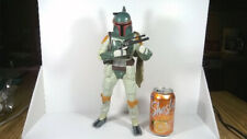 STAR WARS BOBA FETT  LARGE 13 INCH TALKING ACTION FIGURE WORKS CLEAN!