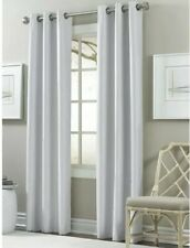 2 Pack Textured Black Out Curtain - Cloud Dancer - Thermo Insulated Grommet Pane