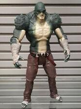 "DC Comics ARKHAM BATMAN oversized 10"" KILLER CROC  6"" video game figure toy"