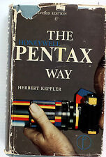 The Pentax by Herbert Keppler, HC, DJ, 362 pages - 4th Edition