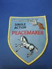Vintage Single Action Peacemaker Pistol Sewing Patch