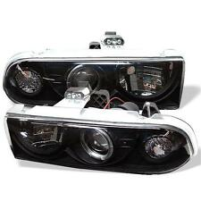 Projector Head Lights Lamps Chevy S10 Blazer 1998-2005 HALO - Black