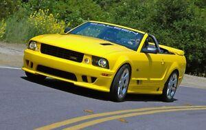 Mustang Black Graphics Kit 05-08 (Non White Cars)