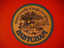 Vintage Cider Beer Coaster Mat: There's A World Of Magic In A Glass Of  BABYCHAM
