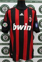 Maglia calcio MILAN BECKHAM TG XL 2008/09 shirt trikot maillot jersey