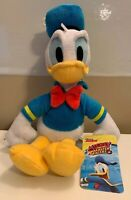 """Disney Junior Donald Duck Plush - Mickey and the Roadster Racers 11"""" NWT"""