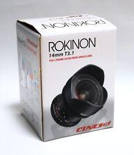 ROKINON 14mm T3.1 ED AS IF UM Full Frame Ultra Wide Angle Lens Cine DS - SONY E