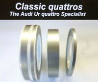 AUDI UR QUATTRO TURBO COUPE COMPLETE DIAMOND SILVER PIN STRIPING KIT