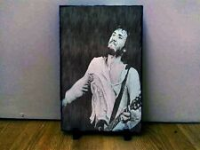 "Pete Townsend Who Sketch Art Portrait on Slate 12x8"" memorabilia Collectables"