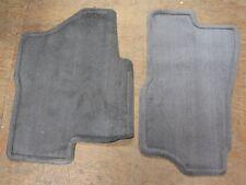 OEM  2004-06 Tahoe Yukon Suburban Front Carpet Floor Mats Med Dark Pewter New GM