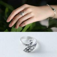 Ring Sewing Accessories Knitting Loop Crochet Ring Adjustable Thimble Ring UK NW
