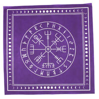 Triple Moon Pentagram Altar Tarot Cloth Divination Cards Wicca Velveteen 100%