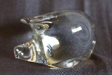 Murano Art Glass Pig Figurine Figure