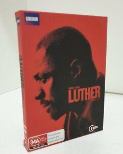 LUTHER : Series 1-3 (DVD, 2013, 6-Disc Set) Idris Elba. Region 4