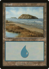 MTG X1: 2003 Arena PROMO Island, Light Play - FREE US SHIPPING!