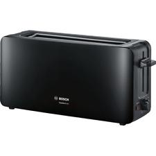 Bosch TAT6A003 ComfortLine Langschlitz-Toaster schwarz