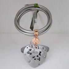Bracciale Kulto Jewels Argentato con cuore Bracelet Grey