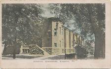 Kingston PA * Pettibone Gymnasium 1908 * Luzerne Co.  Football in Msg.