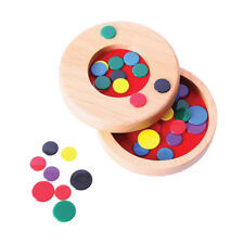 Bigjigs Toys Traditional Wooden Tiddly Winks Game