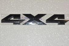 2015 Dodge Ram 1500 Black 4x4 Tailgate Emblem Nameplate Black new OEM 68250541AA