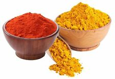 Authentic Indian Spices Turmeric & Red Chilli Powder Combo Pack Haldi & Mirchi