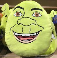 "Universal Studios 15"" Shrek Face Pillow Plush New With Tags"