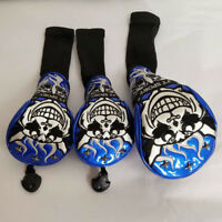 3pcs Golf Cover Wood Club Headcover Mythical creatures For Driver Fairway Wood