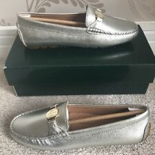 RALPH LAUREN WOMENS CARLEY-FL-CSL LOAFERS/SLIP ON/CASUAL SHOES/FLATS UK 5