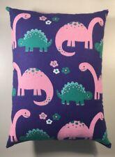 "Beautiful Handmade Dinosaur Accent - Throw Pillow 12"" x 9"""