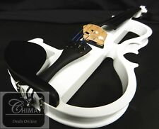 ELECTRONIC VIOLIN 4/4 SIZE WITH PRELUDE STRINGS+ FRANCE BRIDGE+FREE SHIPPIMG