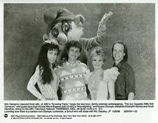 KIRK CAMERON SCOTT HAMILTON ELIZABETH MANLEY ICE CAPADES 1988 ABC TV PHOTO