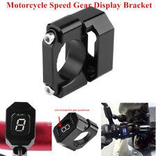 Motorcycle Gear Display Speed Indicator Mounting Bracket Gauge Holder 22-28.6mm