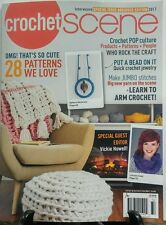 Crochet Scene Interweave Special Abridged Edn. 2017 Vickie Howell FREE SHIPPING