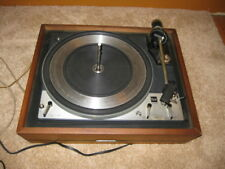 Dual 1218 Turntable with Shure Hi Track Cartridge United Audio Plinth Spindle