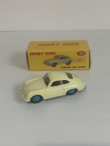 DINKY TOYS 182 BY NOREV PORSCHE 356A COUPE 1/43 SCALE.