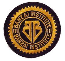 Buckaroo Banzai - Banzai - Institut Log gestickter Aufnäher  -Patch für Uniform